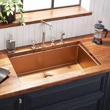 kitchen cabinet sink faucets 32 atlas stainless steel undermount kitchen sink bronze