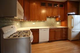 modern kitchen with cherry wood cabinets white and cherry wood kitchen remodel contemporary