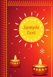 happy diwali greeting cards vector free 123freevectors