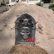 online get cheap halloween tombstone decoration aliexpress com