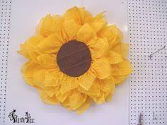 deco paper mesh http www dpd037 wreaths sun flower paper mesh