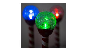 Crackle Globe Solar Lights by Holiday Christmas Crackle Ball Solar Light Solar Pathway Lights