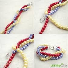 simple pearl bracelet images Handmade beaded jewelry designs simple pearl bracelet and ring set jpg