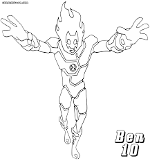 ben 10 coloring pages coloring pages to download and print