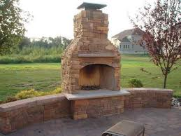 Backyard Fireplace Ideas Outdoor Fireplaces Ideas With Circle Seating Walls Creative
