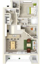 Flex Room by Elegant 1 And 2 Bedroom Granbury Apartments Towne Square Apartments