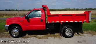 1999 ford f450 super duty dump truck item da1257 sold n