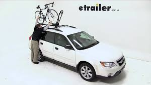Subaru Forester Bike Rack by Yakima Frontloader Roof Bike Rack Review 2008 Subaru Outback