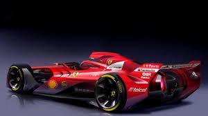 scuderia f1 scuderia dreams up the f1 car of the future autoblog