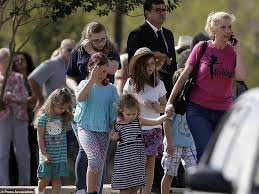 Texas how long does it take mail to travel images Texas church funeral held for family killed in shooting daily jpg