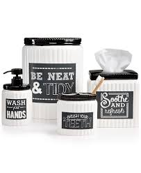 White Bathroom Accessories Ceramic by Bathroom Top Bathroom Accessories Black And White Room Ideas