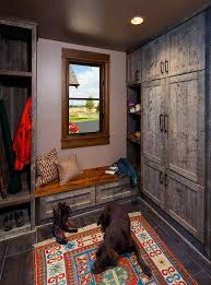 mudroom lockers basement traditional with energy star recessed