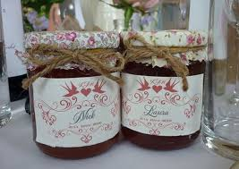 jam wedding favors wedding favor jam place settings popsugar food