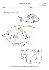 small worksheet 11