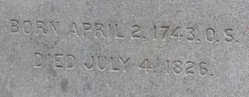 what is written on thomas jefferson u0027s gravestone the periodic