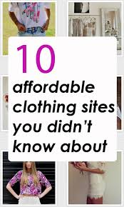 10 affordable clothing websites you didn u0027t know about budgeting