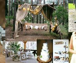 Backyard Wedding Decorations Ideas Backyard Wedding Decor Wedding Ideas Only Rustic Brides Understand