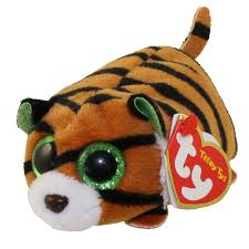 ty beanie boos teeny tys stackable plush tiggy tiger 4