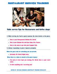 100 restaurant hostess training manual new cumberland