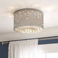 Cheap Kitchen Light Fixtures Flush Mount Lighting You Ll Wayfair