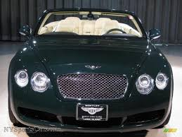 green bentley 2007 bentley continental gtc in barnato green photo 4 044385