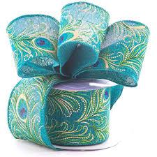 fabric ribbon peacock eye fabric ribbon