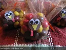 how to make m m turkey favors madness