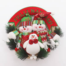 Decorated Christmas Wreaths Wholesale by Online Get Cheap Hanging Christmas Wreaths Aliexpress Com