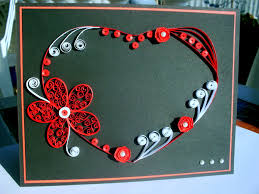 100 handmade valentines day greeting cards quilling and craft