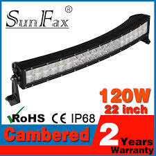 sale 22 c ree 120w light led light bar curved