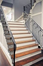 Iron Banisters And Railings Wrought Iron Stair Railings Process And Design