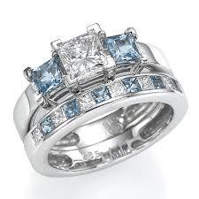 aquamarine wedding rings aquamarine wedding rings the wedding specialiststhe wedding