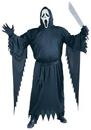scary costumes plus size ghostface scream costume mens scream scary costumes