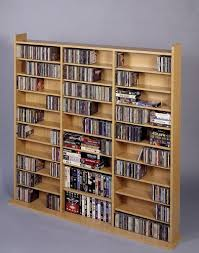Cd Cabinet Cd 1500 Mutimedia Storage Rack Oak