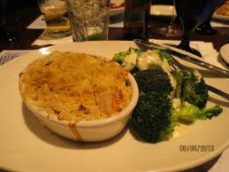 cuisine le gal seafood casserole i couldn t eat but half it was a lot of food