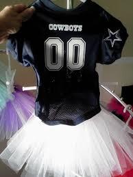 Dallas Cowboy Costumes Halloween Dallas Cowboys Jersey Tutu White Skirt