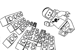 lego movie coloring pages benny coloringstar