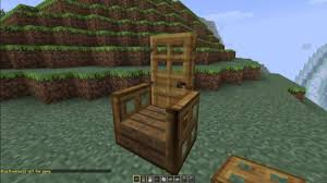 Cool Furniture In Minecraft by How To Make Advanced Chairs In Minecraft Minecraft Furniture