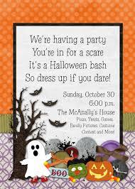 Halloween Invitation Poems Cute Halloween Invitation Wording
