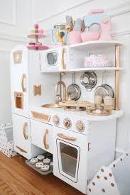 Kidkraft Kitchens Diy Gold And White Kitchen A Darling Daydream