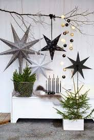 top scandinavian christmas decorating ideas pine leaf pinecone