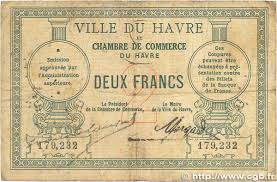 chambre de commerce du havre 2 francs regionalism and miscellaneous le havre 1914 jp