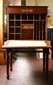 Plantation Desk Mid 19c Walnut Plantation Desk Small Cupboard Small Shelves And