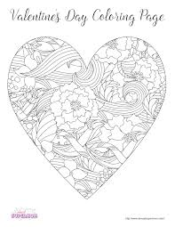 valentines color page free valentine u0027s day coloring pages for grown ups almost supermom