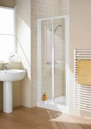 roman bathrooms product categories bi fold shower doors