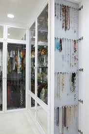 jewelry storage mirror closet contemporary with built ins glass