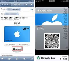 store gift cards briefly passbook enabled gift cards now featured in apple store app