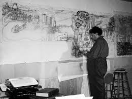 the delicate art of moving photographing diego rivera mural sfgate