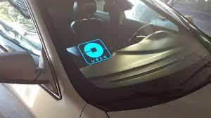 lyft light up beacon new 2017 design uber glowing logo sign youtube