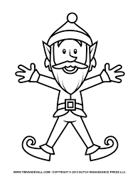 colouring pages for elves and the shoemaker elves and the